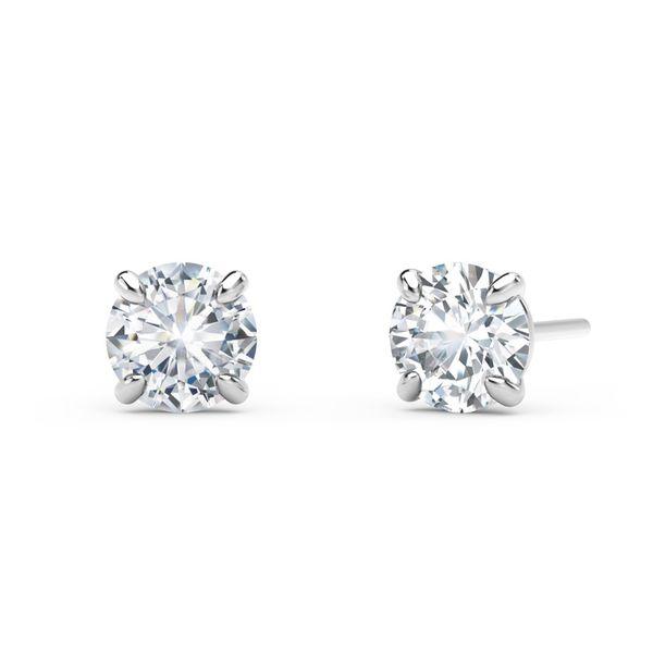 Forevermark Four Claw Earrings