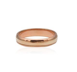 rose fold ring