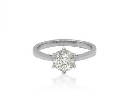 Miracle Diamond Pave Ring