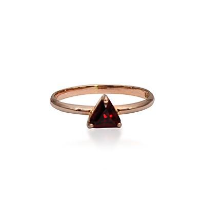 Garnet Stack Ring
