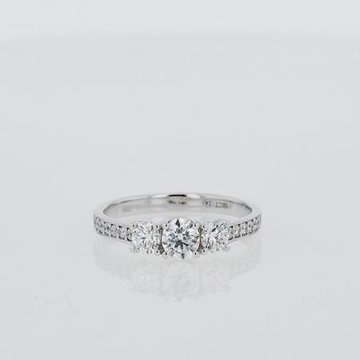 Forevermark Trilogy Ring