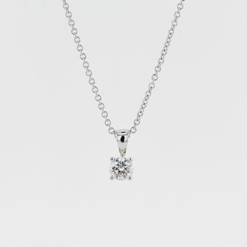 Forevermark Four Claw Pendant