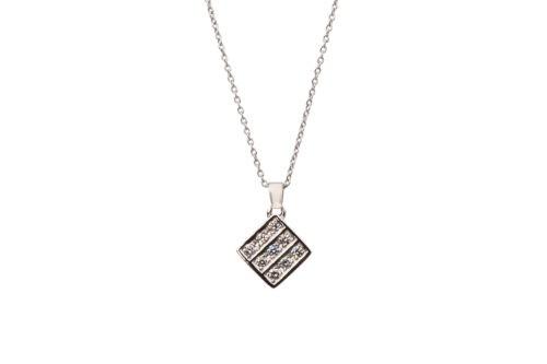 Prins & Prins | Square Diamond Pendant