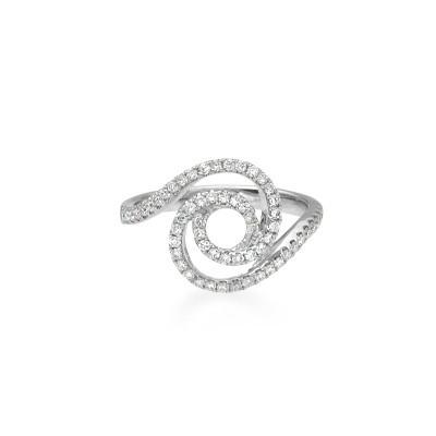 Diamond Tornado Ring